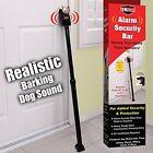 Door Brace Bar Jam Adjustable Pole Steel Security Door Stop Alarm or Barking Dog