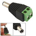 10 Pcs 2.1x5.5mm Male Jack DC Power Adapter Connector Plug for CCTV Camera New