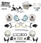 1968-69 Camaro/ Firebird Wilwood Front Rear Disc Brake Kit w/ Chrome Booster Kit
