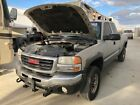 2005 GMC SIERRA K2500 REBUIDABLE SALVAGE Ext Cab Long Bed GAS V8 6.0 TRUCK 222k!