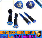 Blue Coilovers Suspension Spring Kit New For 1989 - 1994 Nissan Silvia 240SX USA