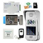 Wireless Wifi 720 Code Keypad Video Intercom Door Phone Doorbell + Electric Lock