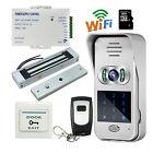 Wireless Wifi Code Keypad 720P Doorbell Video Intercom Door Phone Magnetic Lock
