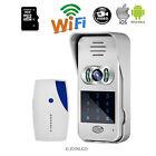 Touch Keypad Wireless Wifi Doorbell 720P Video Intercom Door Phone Free Shipping