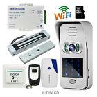 DIY Wireless Wifi Code Keypad Doorbell Video Intercom Door Phone Magnetic Lock