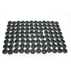 Fast-Trac Round XL Black Air Lite Backer Plates for 5/16 in. Studs - 600RX-96