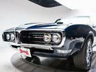 Firebird -- 1968 Pontiac Firebird  400 V8 3 Speed Automatic Convertible Dark Blue Metallic