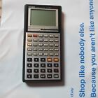 Casio Scientific Calculator Graphics fx-7000G no battery untested
