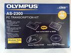 Olympus AS-2300 PC Transcription Kit - Win and Mac Compatible - BRAND NEW IN BOX