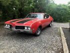 1969 Oldsmobile 442 Holiday coupe 1969 olds 442 4 speed w/ 350 rocket motor