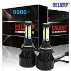 9006 HB4 LED Headlight Bulb Kit 1400W COB Auto Car For Ford GMC FOG Lamp VS HID