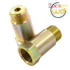 2x O2 Oxygen Sensor Extension Spacer adapter Fix 45mm - M18 x 1.5 NEW