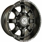 20x10 Matte Black Anthem Commander A732 8x170 -24 Wheels 37x13.50R20LT Tires