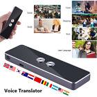 Translation Intelligent Translator 30 Languages Real Time Voice Translate Device