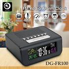 Digoo SmartSet Wireless LCD Digital Alarm FM Radio Clock Weather Meter Station
