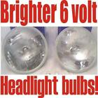 2 Halogen headlights Oldsmobile,Buick 1950 1951 1952 53