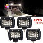 POLARIS RANGER LED BACKUP LIGHT SPOT LIGHT BRACKETS ONLY REAR LIGHT BAR 4PCS