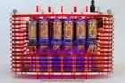 OOAK NIXIE Tubes Steampunk Alarm Clock Handmade Vintage Retro Fallout Gift