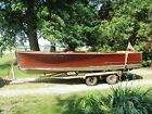 Rare 1941 Chris Craft 18' Deluxe Utility Runabout Mahogany Power Boat