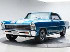 Nova -- 1966 Chevrolet Nova  400 V8 5 Speed Manual Hardtop Lemans Blue