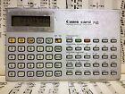 Canon card F-63 Scientific / Statistical calculator