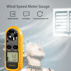 Tester NTC Thermometer Meter Air Velocity Digital Anemometer LCD Gauge Lanyard