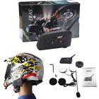 V6Pro Bluetooth Intercom Motorcycle Wireless Helmet Accessories Speaker 1200m--