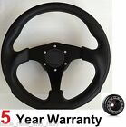 300MM SPORTS RACE STEERING WHEEL AND BOSS KIT FIT LAND ROVER DEFENDER 48 SPLINE