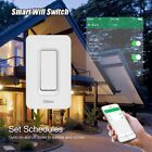Voice Life App Wifi Wall Switch US Regulatory 1 Way Smart Home Touch Panel