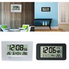 Creative Digital LCD Calender Alarm Clock Temperature Snooze Quiet Clock