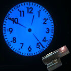 Rome Numeral Style LED Projector Clock Time Clock For Home Bedroom US Plug