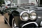 1962 Chevrolet Corvette  1962 CORVETTE TUXEDO BLACK ON RED CALIFORNIA CAR, AUXILIARY HARD TOP