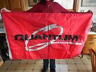 ORIGINAL VINTAGE 1990 MAXUM QUANTUM BOAT DEALER DISPLAY SIGN / FLAG