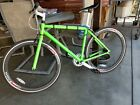 fixie bike neon green fixed gear