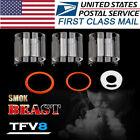 3PCS SMOK Stick V8 Replacement Pyrex Glass Tube + O Ring Part USA STOCK