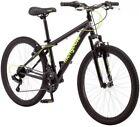 24' Mongoose Excursion Boys' Mountain Bike BLACK