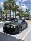 2005 Bentley Continental GT black Gorgeous Black on Red Upgraded Bentley Continental GT
