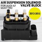 et FOR AUDI A7 Quattro AIR RIDE SUSPENSION SOLENOID VALVE BLOCK 2012- ea
