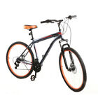 27.5'' Mountain Bike Men 21 Speed Hybrid Bike Grey School Commuter Shimano