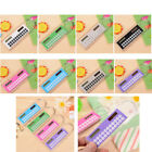 Mini Solar Calculator Multifunction 10cm Ruler School Office Student For Gifts