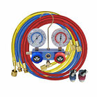 MASTERCOOL A/C R134a CHARGING AND TESTING MANIFOLD GAUGE SET W/ HOSES & COUPLERS