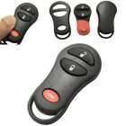 A Remote Key Shell Cover 3-Button for Chrysler Jeep Grand Cherokee Dodge Ram WE1