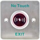 No Touch Infrared Sensor Exit Button Door Release Buttons Switch NO/NC/COM