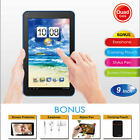 "Brand New Blue KOCASO MX9200 9"" Android Tablet PC with Accessories -"