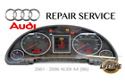 REPAIR SERVICE for AUDI A4 B6 INSTRUMENT SPEEDOMETER CLUSTER FADING 2002 - 2006