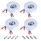 ANNKE 4Pcs 100ft Video Power BNC Cable Cords for CCTV Security Camera System