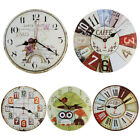 Modern DIY Small Large Number Wall Clock 3D Mirror Surface Sticker Home Decor