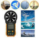 Digital Anemometer Wind Speed Meter Air Flow Measuring Tester HYELEC MS6252A