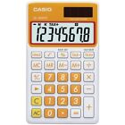 CASIO(R) SL300VCOESIH Solar Wallet Calculator with 8-Digit Display (Orange)
