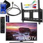 "Samsung UN40MU6290 40"" HDR 4K UHD Smart LED TV + Remote + Component, HDMI Cabls"